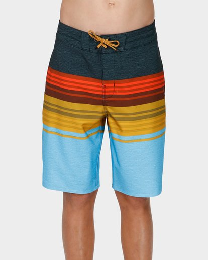 0 TEEN SPINNER LO TIDE BOARDSHORTS Blue 8591438 Billabong