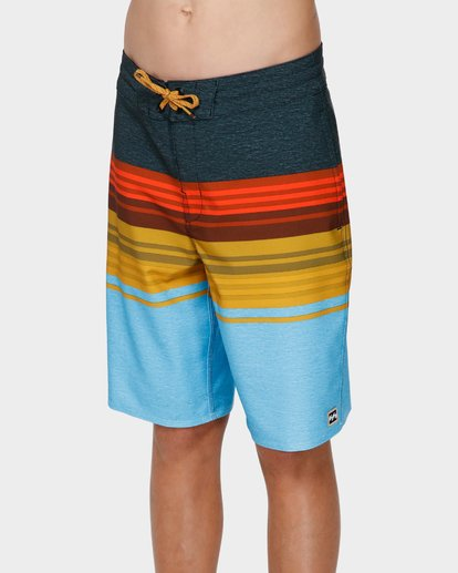 1 BOYS SPINNER LO TIDE BOARDSHORTS Blue 8591438 Billabong
