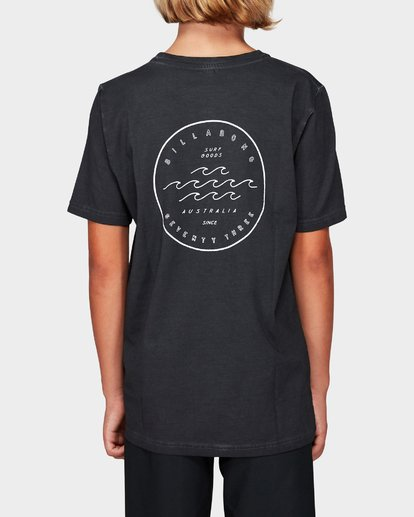 2 Boys Wavy Davy Tee Black 8592001 Billabong