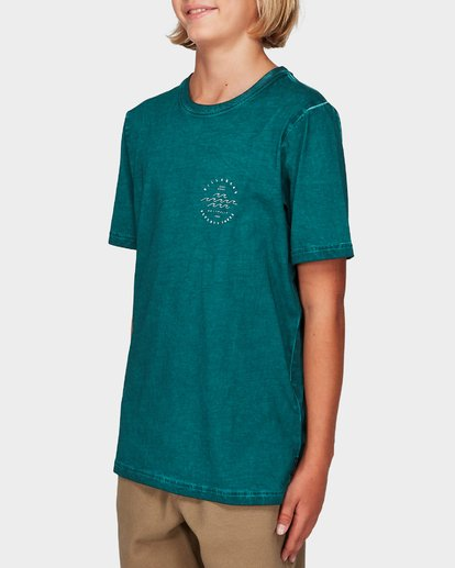 1 Boys Wavy Davy Tee Green 8592001 Billabong