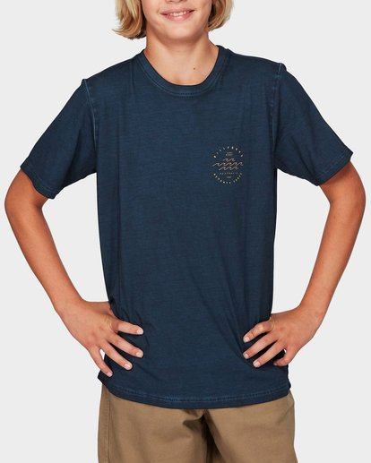 0 Boys Wavy Davy Tee Blue 8592001 Billabong