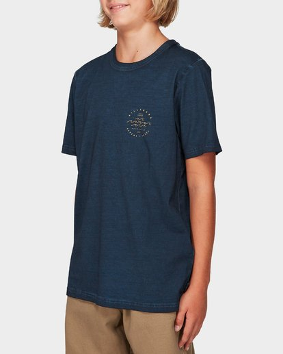 1 Boys Wavy Davy Tee Blue 8592001 Billabong