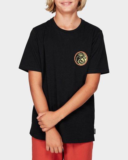 0 Boys Yang Tee Black 8592017 Billabong
