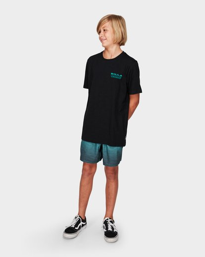 2 Boys Under Cut Tee Black 8592032 Billabong