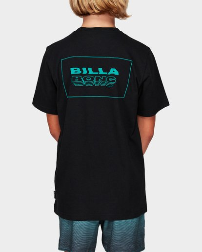 1 Boys Under Cut Tee Black 8592032 Billabong
