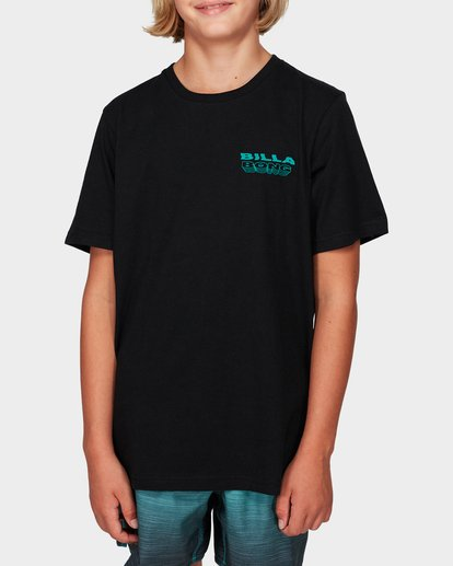 0 Boys Under Cut Tee Black 8592032 Billabong