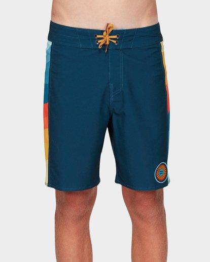 0 Boys D Bah Pro Boardshorts Blue 8592407 Billabong