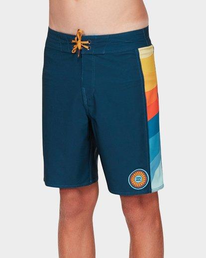 1 Boys D Bah Pro Boardshorts Blue 8592407 Billabong