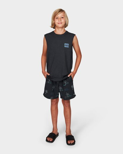 3 Boys Full Froth Muscle Tee  8592505 Billabong
