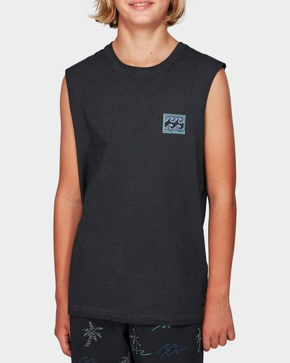 0 Boys Full Froth Muscle Tee  8592505 Billabong