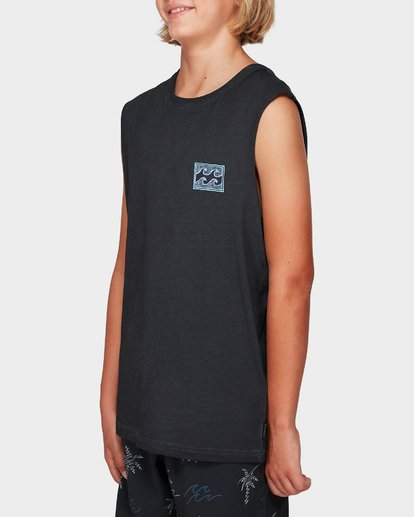 1 Boys Full Froth Muscle Tee  8592505 Billabong
