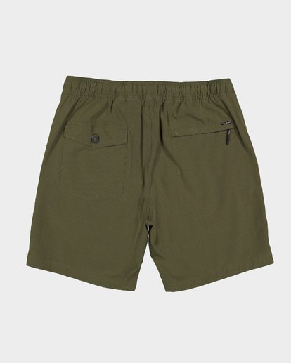 10 Boys Surftrek Perf Shorts Green 8592717 Billabong
