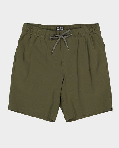 9 Boys Surftrek Perf Shorts Green 8592717 Billabong