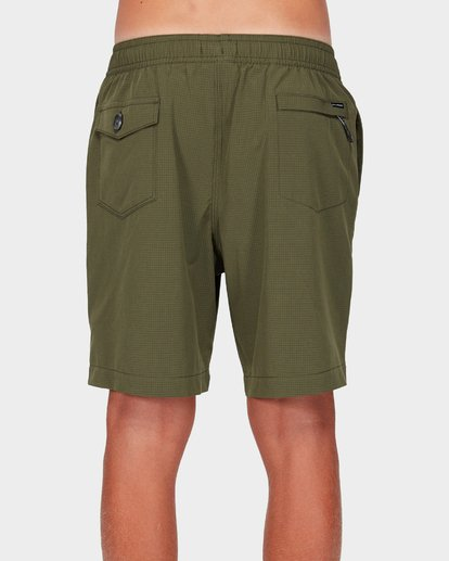 2 Boys Surftrek Perf Shorts Green 8592717 Billabong