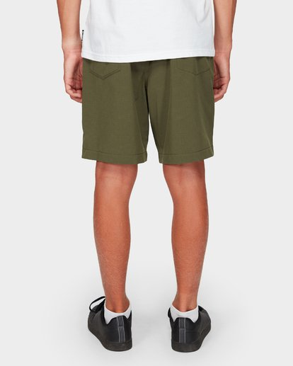 8 Boys Surftrek Perf Shorts Green 8592717 Billabong