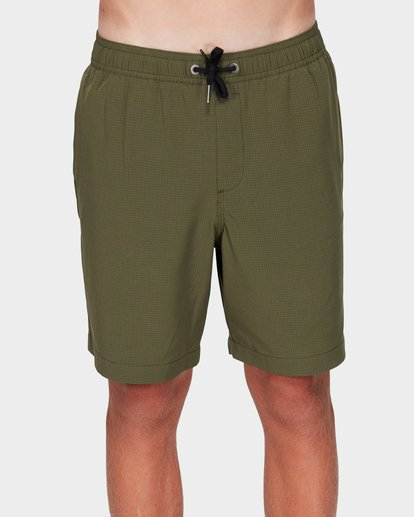 0 Boys Surftrek Perf Shorts Green 8592717 Billabong