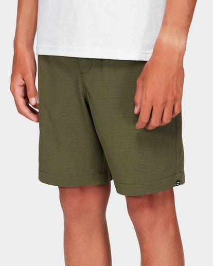 4 Boys Surftrek Perf Shorts Green 8592717 Billabong