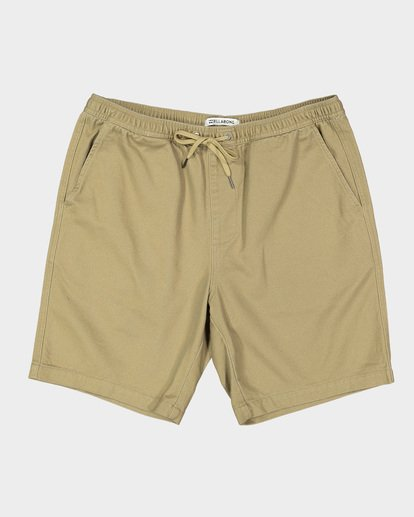 9 Boys Larry Twill Shorts Grey 8592733 Billabong