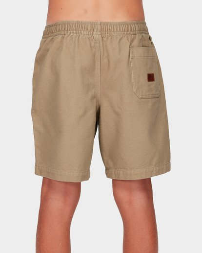 2 Boys Larry Twill Shorts Grey 8592733 Billabong
