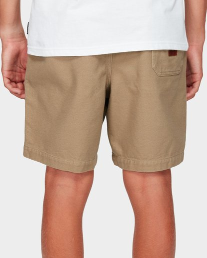 5 Boys Larry Twill Shorts Grey 8592733 Billabong