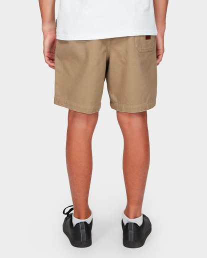 8 Boys Larry Twill Shorts Grey 8592733 Billabong