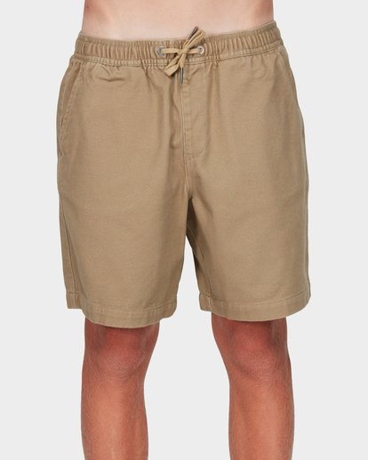 0 Boys Larry Twill Shorts Grey 8592733 Billabong