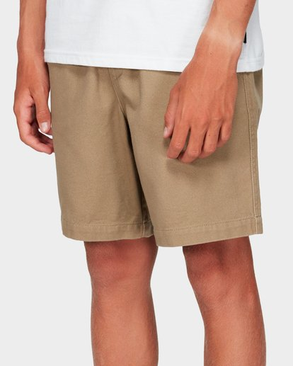 4 Boys Larry Twill Shorts Grey 8592733 Billabong