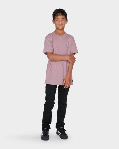 3 TEEN WHAT A CROC TEE Purple 8595026 Billabong