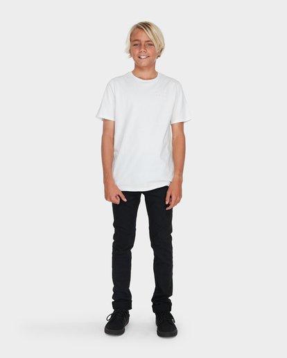 6 TEEN OUTSIDER TAPERED JEAN Black 8595351 Billabong