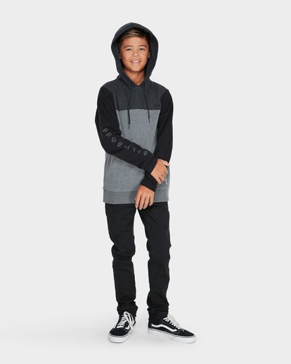3 TRILOGY POP HOOD Black 8595621 Billabong