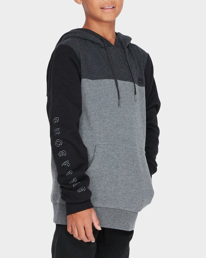 1 TRILOGY POP HOOD Black 8595621 Billabong