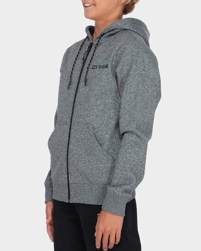1 TEEN ADIV SHORELINE ZIP HOOD Grey 8595628 Billabong