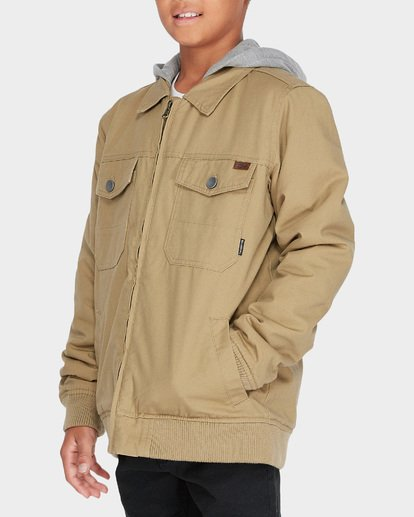 1 Teen Barlow Twill Jacket Pink 8595910 Billabong