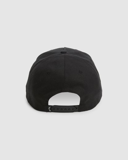 2 Boys Stacked Snapback Black 8603305 Billabong