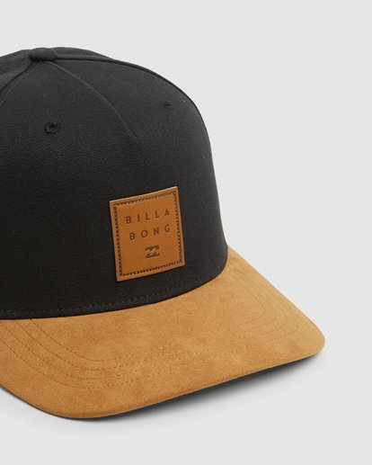 3 Boys Stacked Snapback Black 8603305 Billabong