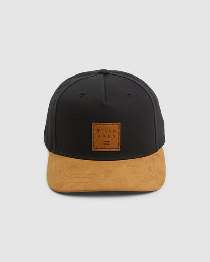 1 Boys Stacked Snapback Black 8603305 Billabong