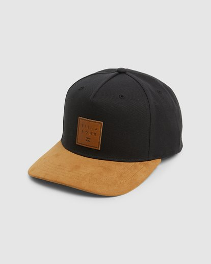 0 Boys Stacked Snapback Black 8603305 Billabong