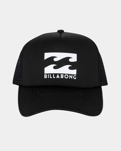 1 Boys Podium Trucker Cap Black 8603306 Billabong