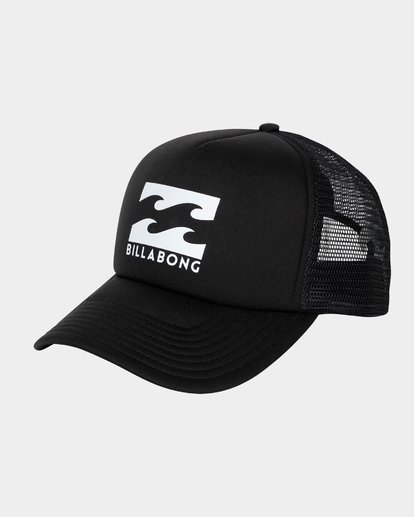 0 Boys Podium Trucker Cap Black 8603306 Billabong