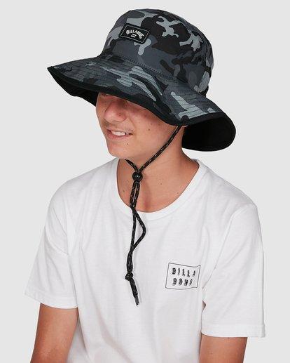 5 Boys Division Reversible Hat Black 8603312 Billabong