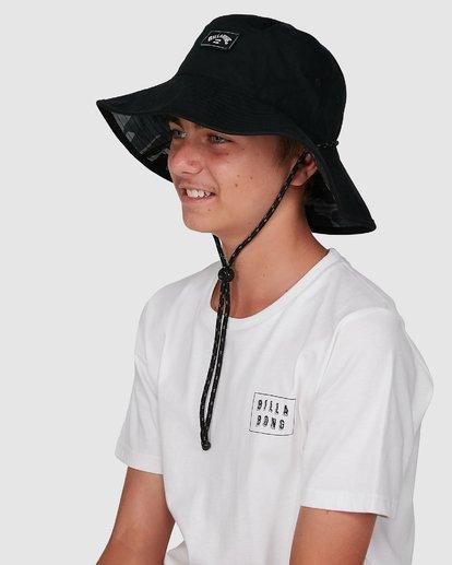 6 Boys Division Reversible Hat Black 8603312 Billabong