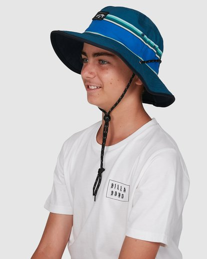 6 Boys Division Reversible Hat Blue 8603312 Billabong