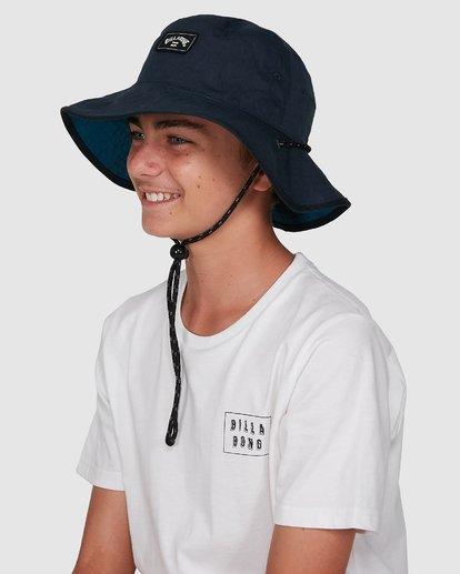 7 Boys Division Reversible Hat Blue 8603312 Billabong