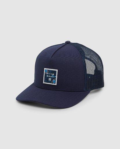 0 Boys Stacked Trucker Cap Purple 8607305 Billabong