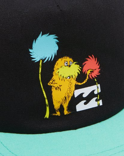 4 Dr. Seuss Truffla Snapback Cap Black 8608300 Billabong