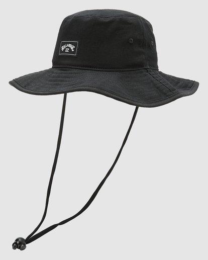1 Boys Big John Hat Black 8613301 Billabong
