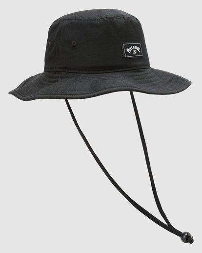 2 Boys Big John Hat Black 8613301 Billabong