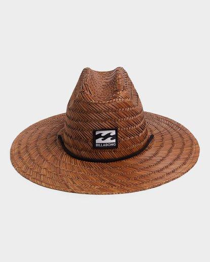 1 TEEN TIDES STRAW HAT Brown 8672301 Billabong