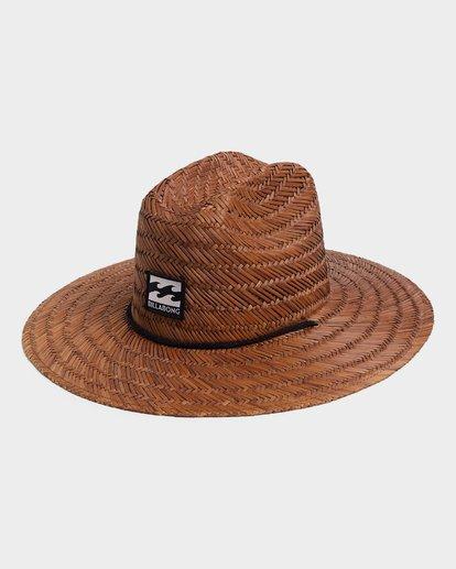 0 TEEN TIDES STRAW HAT Brown 8672301 Billabong