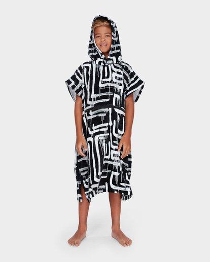 3 TEEN HOODIE TOWEL Black 8682705 Billabong